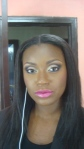 Musulyn again but this time, sporting this beautifully contoured look. Makeup by Iwo.